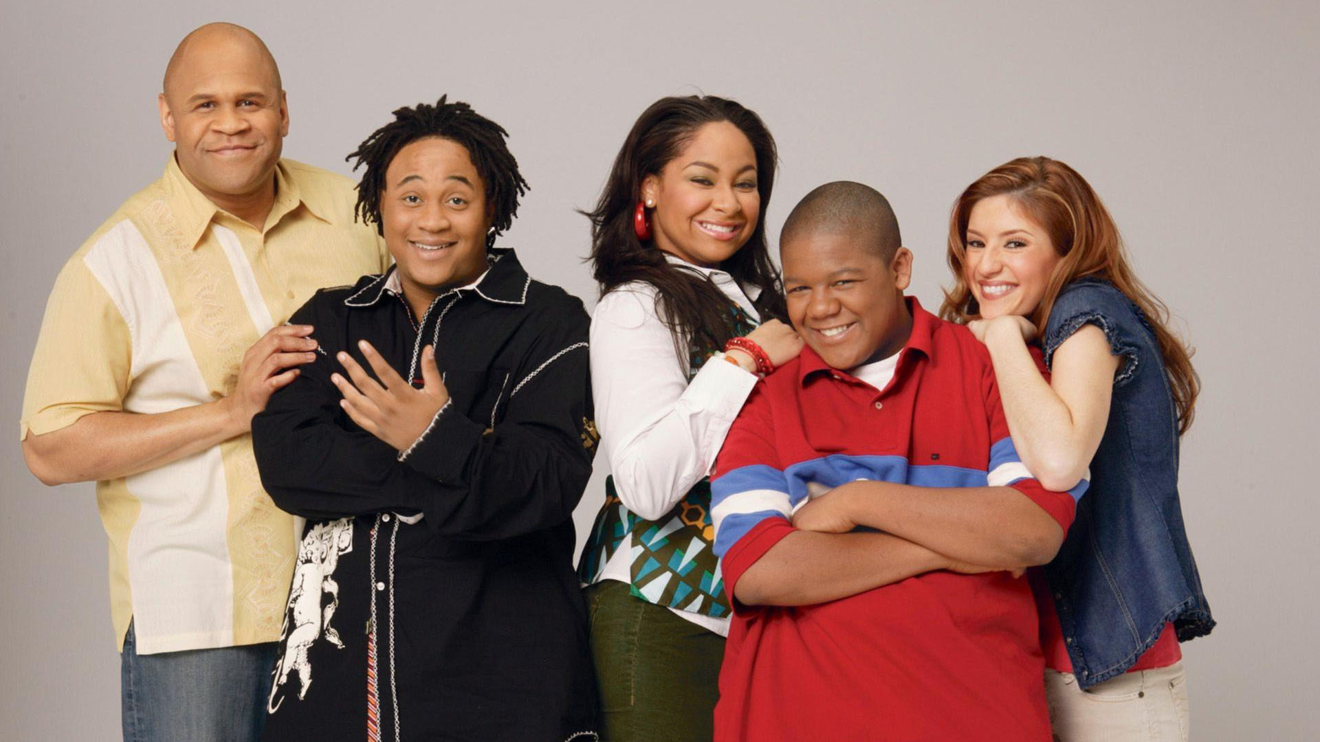 "THE FULL CAST OF CHILDHOOD TV CLASSIC ""THAT'S SO RAVEN"" REUNITE AFTER 8 YEARS (VIDEO)"