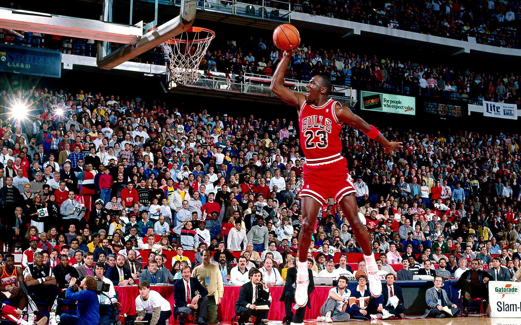 WHAT AN INSPIRATION! WATCH 'MICHAEL JORDAN'S' CAREER HIGHLIGHTS FOR HIS INDUCTION INTO THE NBA HALL OF FAME! (VIDEO)