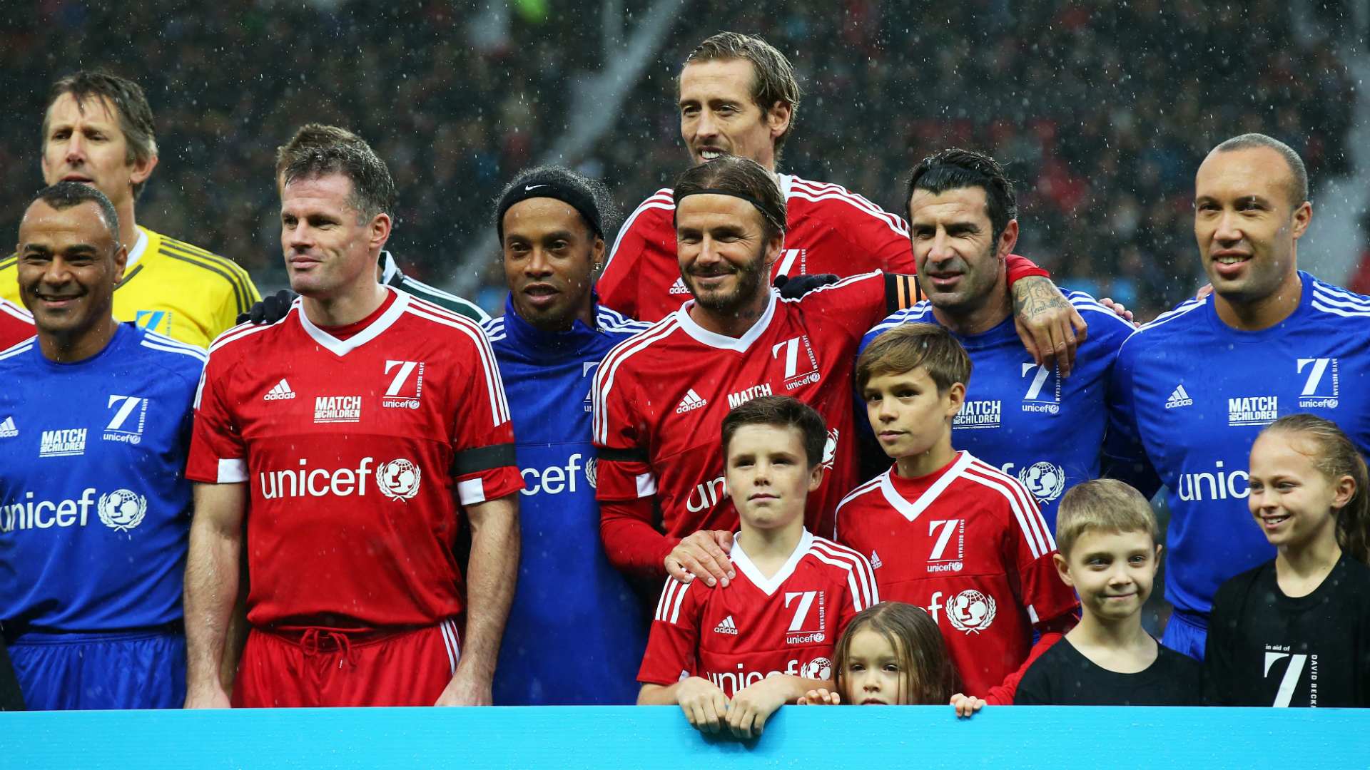 WATCH: DAVID BECKHAM & RONALDINHO'S HIGHLIGHTS FROM UNICEF CHARITY MATCH!