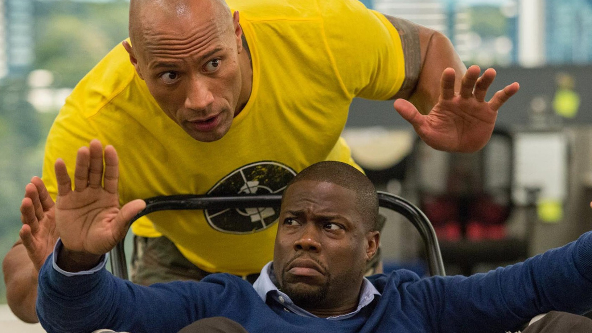 WATCH: TRAILER FOR KEVIN HART & DWAYNE JOHNSON'S NEW FILM 'CENTRAL INTELLIGENCE'!