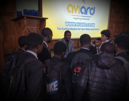 AVIARD Founder, AMANI SIMPSON Gives Inspirational Talk At ENFIELD GRAMMAR; The School He Was EXPELLED From!