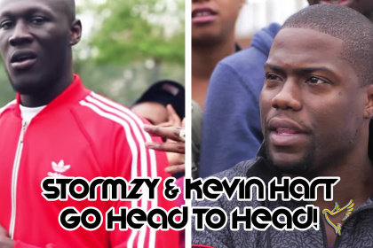 STORMZY & KEVIN HART GO BACK TO BACK ON A GRIME BEAT (FULL VIDEO)
