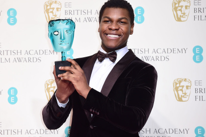 WATCH: JOHN BOYEGA WINS THE 'RISING STAR AWARD' AT BAFTA 2016!