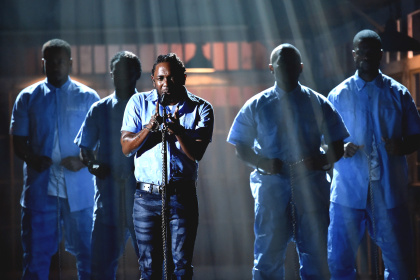 WATCH: KENDRICK LAMAR'S HISTORIC PERFORMANCE AT 2016 GRAMMY'S!
