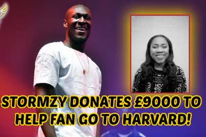 WHAT A LEGEND! Stormzy Donates £9000 To Send Fan To Harvard University!