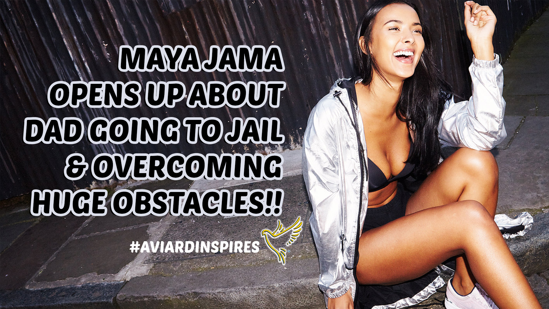 MAYA JAMA Opens Up About Overcoming HUGE Obstacles In This POWERFUL Ted Talk! (VIDEO)