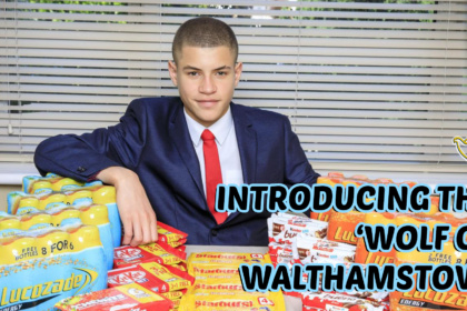 "Meet The ""WOLF OF WALTHAMSTOW"" - A Pupil Who Built a £50K a year Sweets Empire From School Toilets!!"