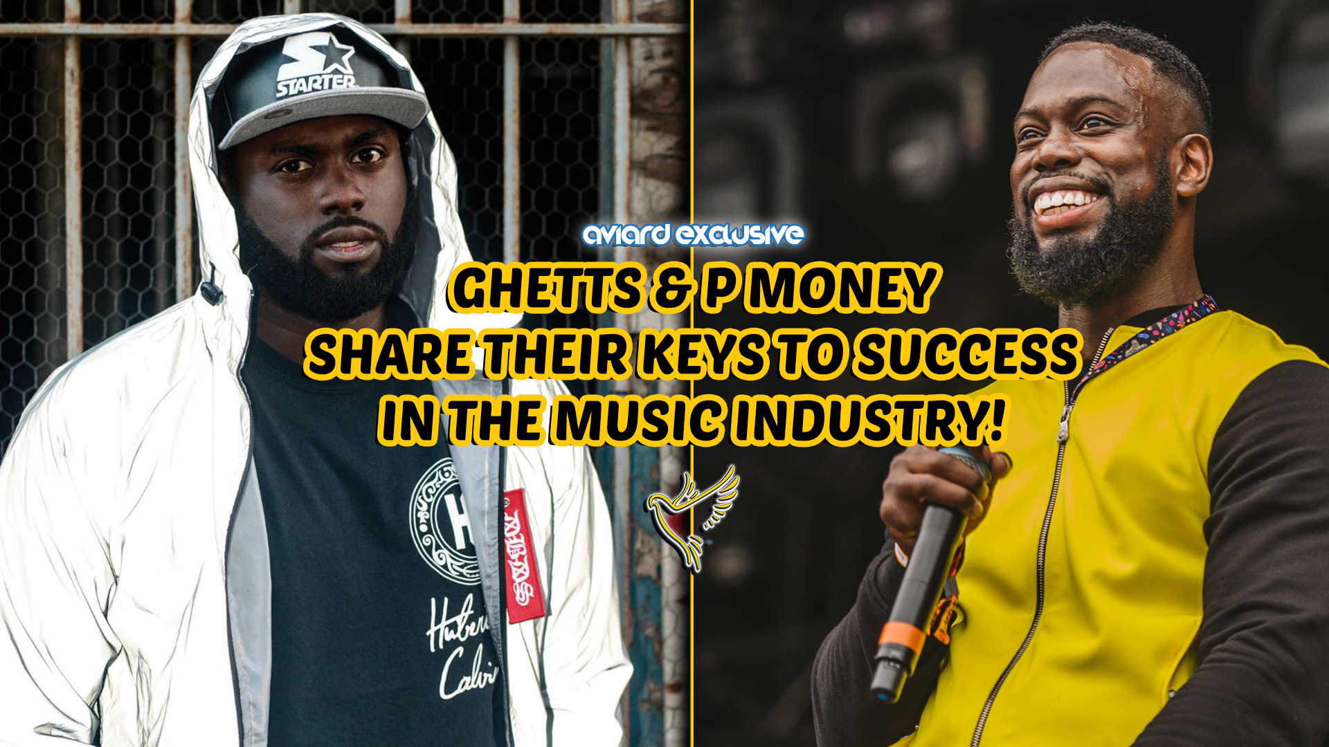 EXCLUSIVE: Ghetts & P Money Share Their Secrets To Music Success!
