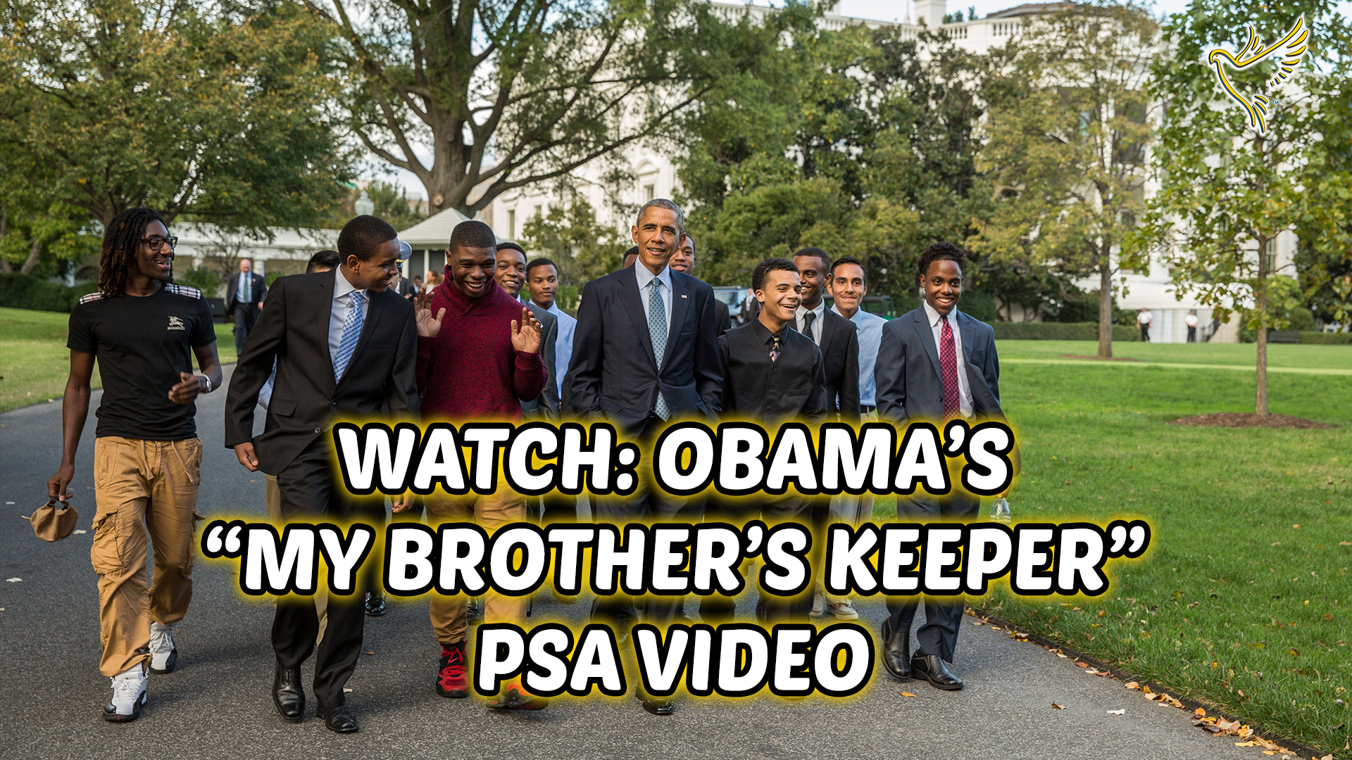 Introducing: The MY BROTHER'S KEEPER Initiative Started By PRESIDENT OBAMA!